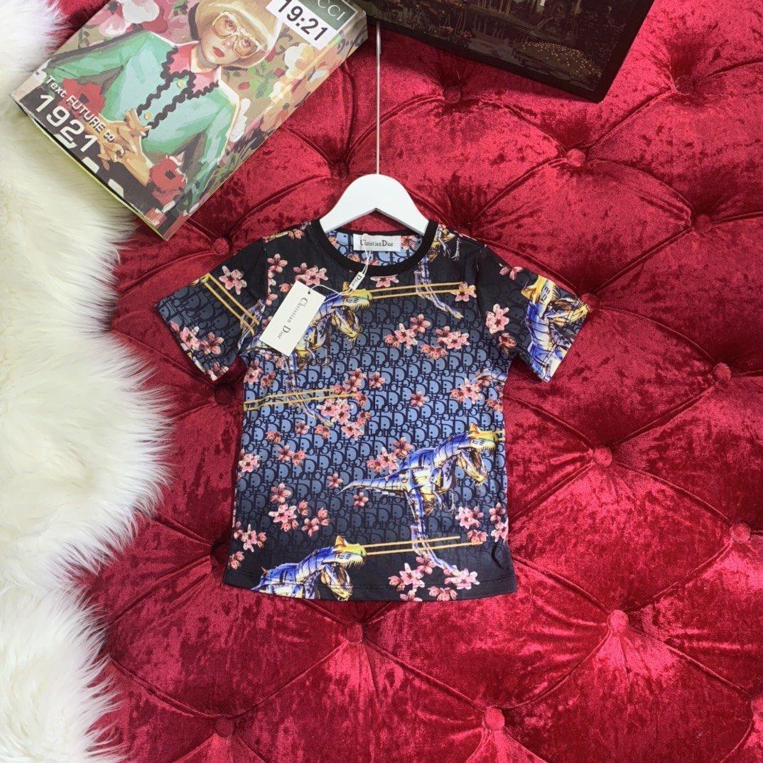 9FQ9kids maglietta 2020 del progettista cotone nuovo stile materiale maniche corte comodi bambini respirabili