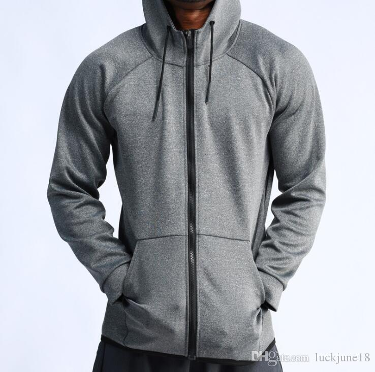 2020 novo outdoor corrida jaqueta de basquete sportswear formação ocasional dos homens de mangas compridas jaqueta com capuz de secagem rápida de fitness Acessórios Femininos