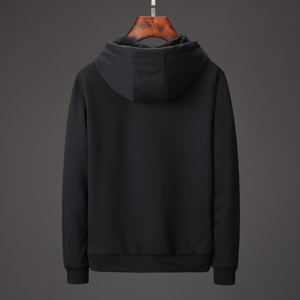 broderie 2019 vêtements de bande dessinée mens coton capuche à manches longues Sweatshirt vêtements à capuche Casual Pullover Jumper mens chandails 19-33