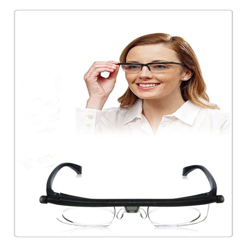 Gafas de presbicia en relieve gafas de lectura de alta calidad gafas de presbicia lector ajustable zoom Vision Care Gafas de sol envío