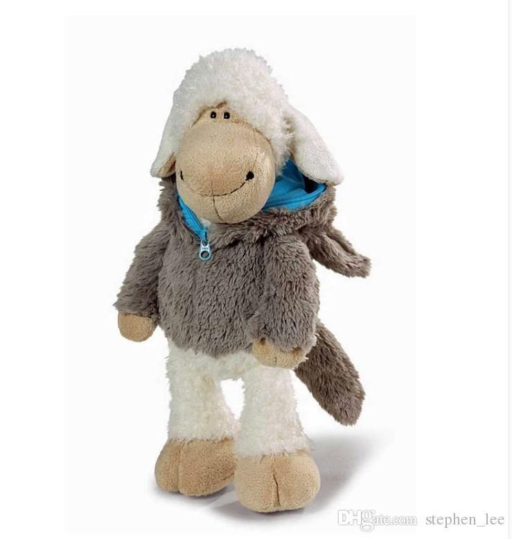 Nouveautés Hot NICI 35cm Super Cute peluche Nici Sheep Wolf « S Poupée Loup Mouton jouets en peluche pour Anniversaires de Noël Cadeaux au détail