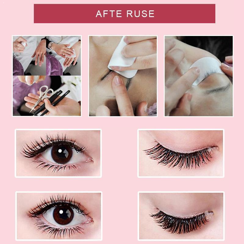 6/8/10/12/14mm 10 Single-cluster Edgy Claw Hair Soft Self-grafted False Eyelashes Natural Eyelashes Z3M4
