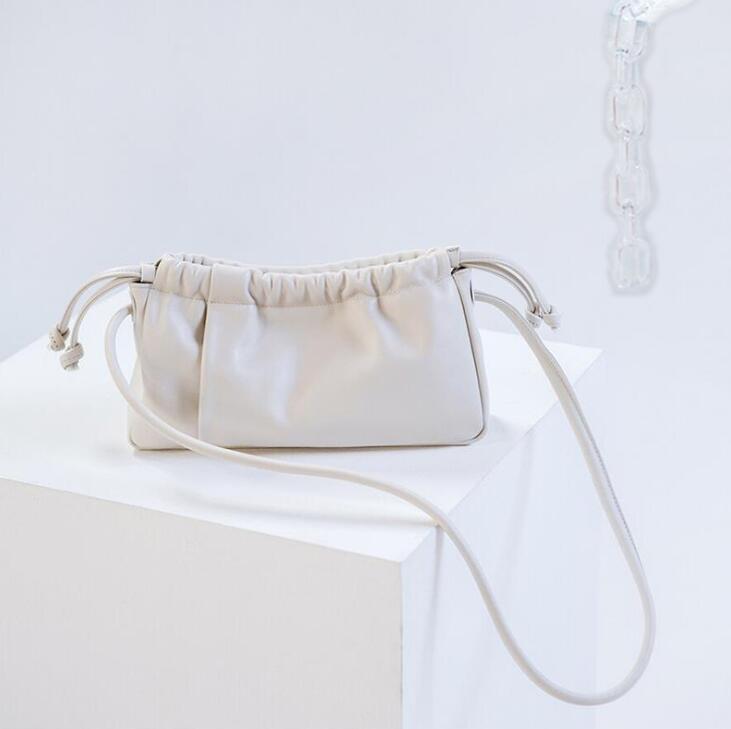 حقيبة يد فاخرة مصممة نساء حقيبة يد مطوية حقيبة كتف تحت الذراع