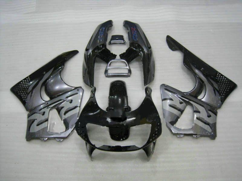 ABS 그레이 블랙 HONDA 용 페어링 키트 CBR900RR 893 96 97 CBR 900RR 1996 1997 CBR 900 RR 오토바이 페어링 바디 키트