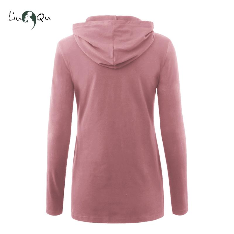 Pack of 3pcs Maternity Nursing Hoodie Sweatshirt Long Sleeve Breastfeeding Top Pregnancy Clothing Hoodies DropShipping Hot Sale
