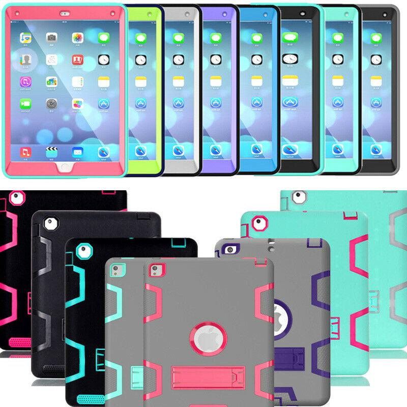 Tablets Case for iPad 9.7 2018 6th Gen/2017 5th ShockProof Protective Case Cover