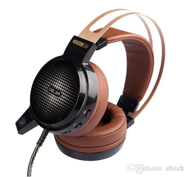 Gaming headset PC Gamer Fone de Ouvido Baixo Casque com Microfone LED Luz de Vibração USB + 3.5mm Fones De Ouvido Jogo