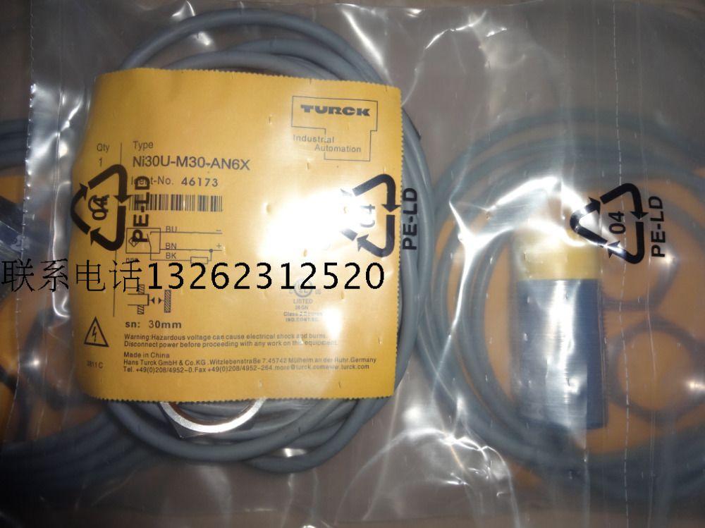 NI30U-M30-AN6X NI30U-M30-AP6X Neuer hochwertiger Turck-Näherungsschalter-Sensor