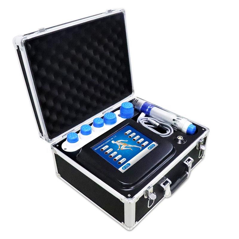 Portátiles de onda Fisioterapia Equipo Shockwave terapia alivio del dolor de cuerpo Relax Cuidado de la Salud máquina de tratamiento de la disfunción eréctil Para