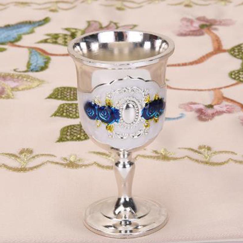 Vino Metallo Vetro Bicchieri liquore di champagne Decorazione Mostra Cucina