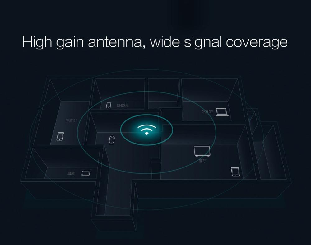 New Original Xiaomi Mi Router 4Q 3 Antennas Blue Wireless 2.4G 802.11bgn 450Mbps APP Control 64M ROMRAM Wifi Wireless Routers-3