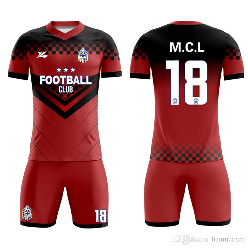 2020 Customized Sublimated Wonderful Quality Best Soccer Uniforms Fabric For Young Players Youth Football From Hanmeinen 22 92 Dhgate Com