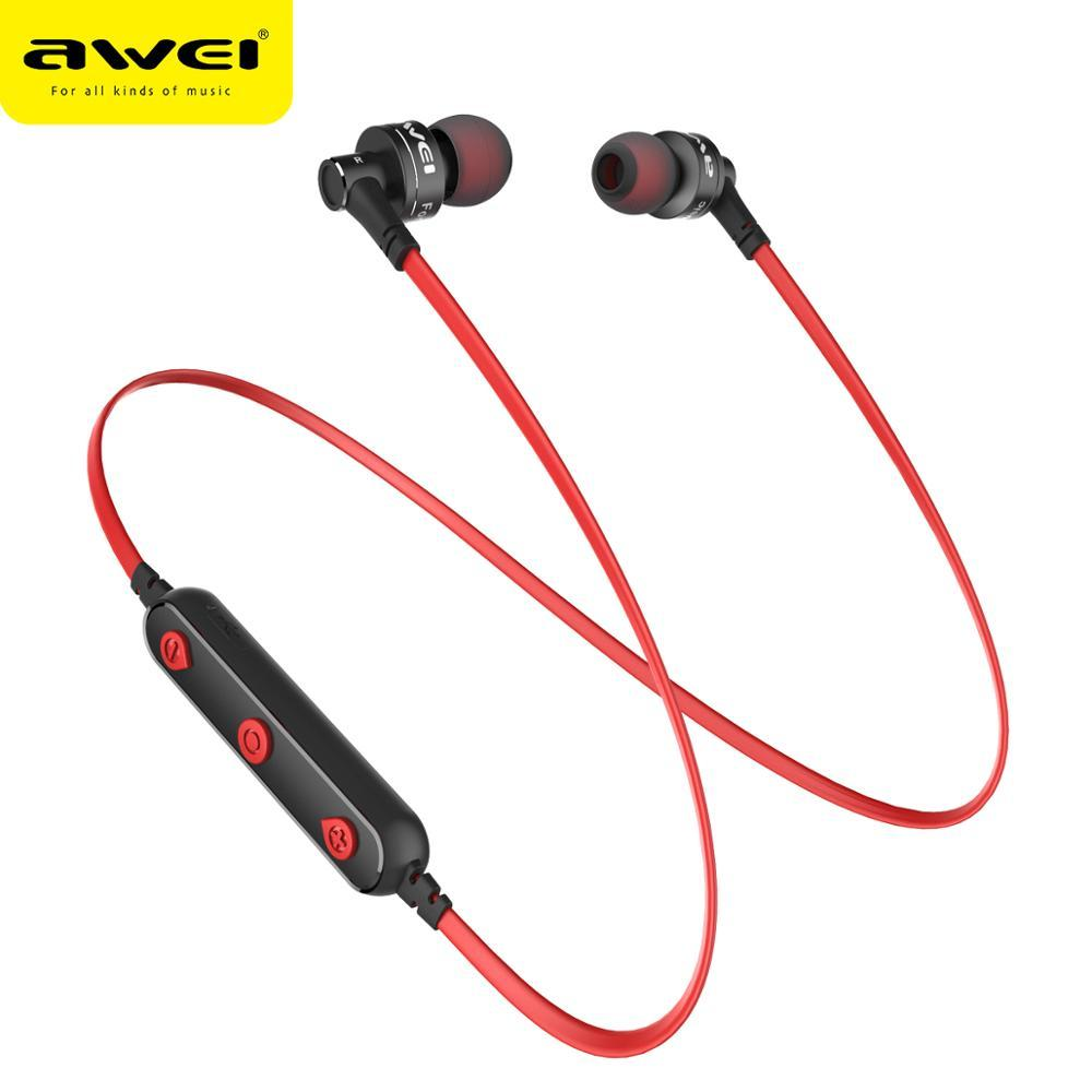AWEI B990BL Wireless Earphone Bluetooth Earbuds Sport Headset Stereo Noise Cancelling Earphones For iphone Samsung Huawei Xiaomi Phone