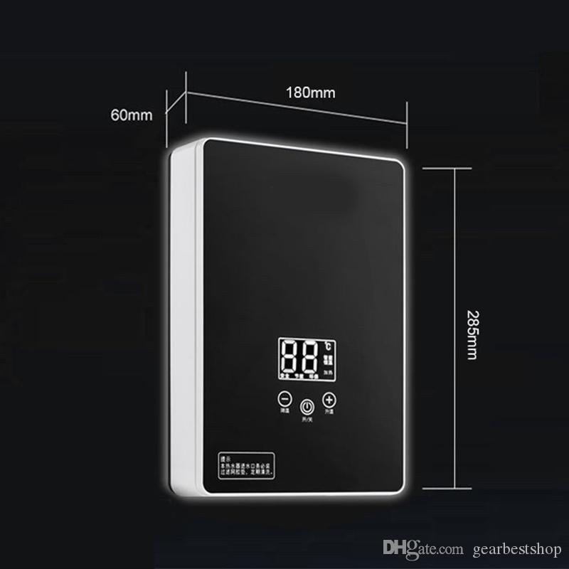 5000w rapide chauffage température standard Protection contre les fuites Chauffe-eau électrique Cuisine Salle de bain