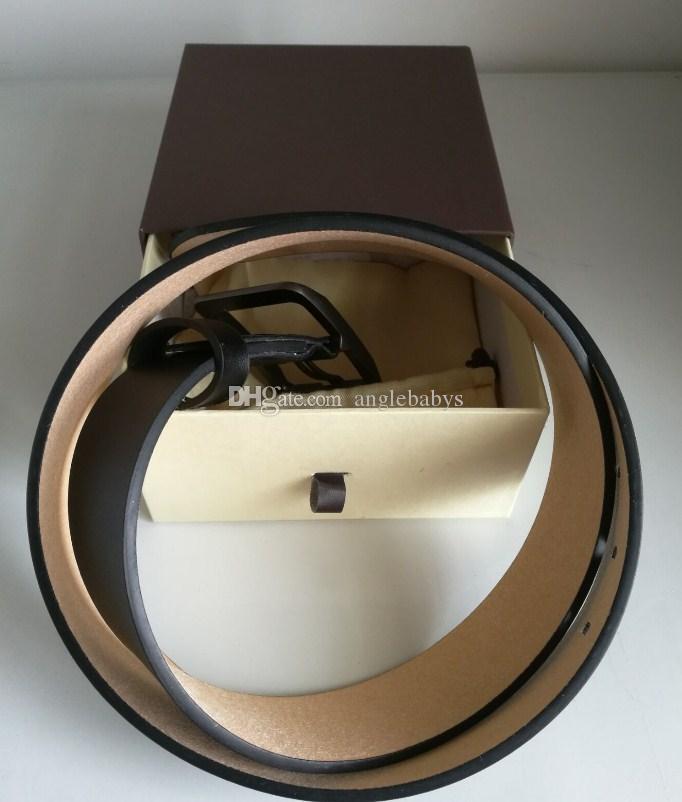 Cinghie designer per Mens cinghie designer Cintura Serpente di lusso del cuoio genuino cinghia reale Cinture Business Women grande fibbia in oro con scatola originale
