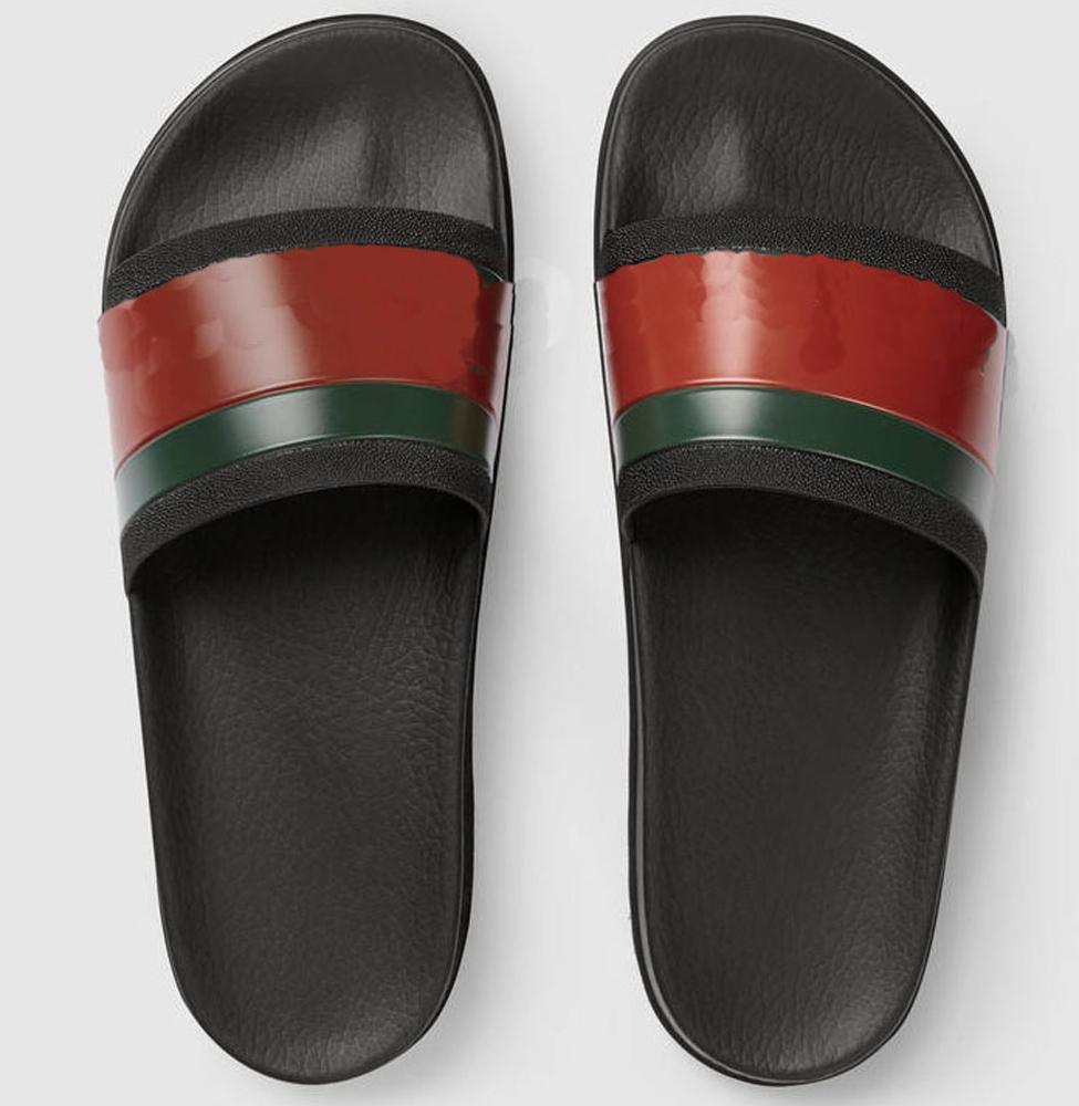 scarpe donna / uomo delle pantofole dei sandali ciabatte di alta qualità pantofole dei sandali scarpe casuali formatori piatte Spostare la levetta EU: 35-45 Con la scatola KQ801