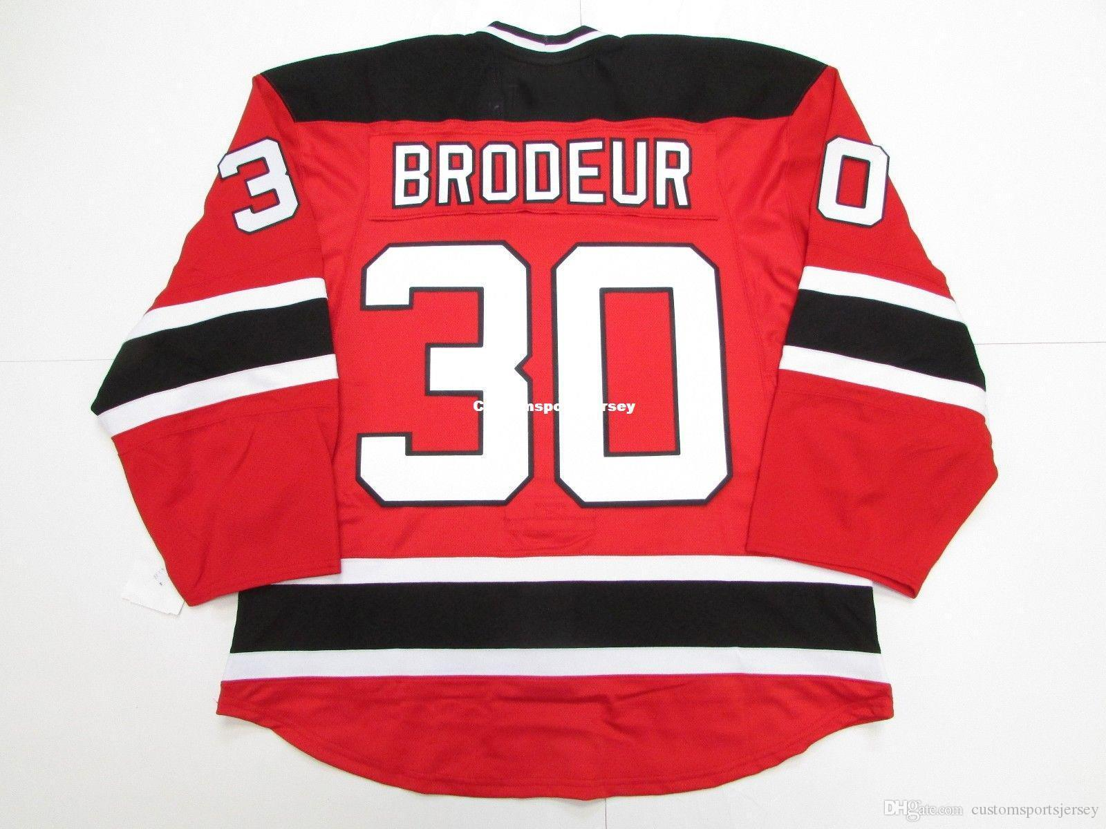 2019 Cheap Custom Martin Brodeur New Jersey Devils Home Edge 2 0 7287 Jersey Stitch Add Any Number Any Name Mens Hockey Jersey Xs 5xl From