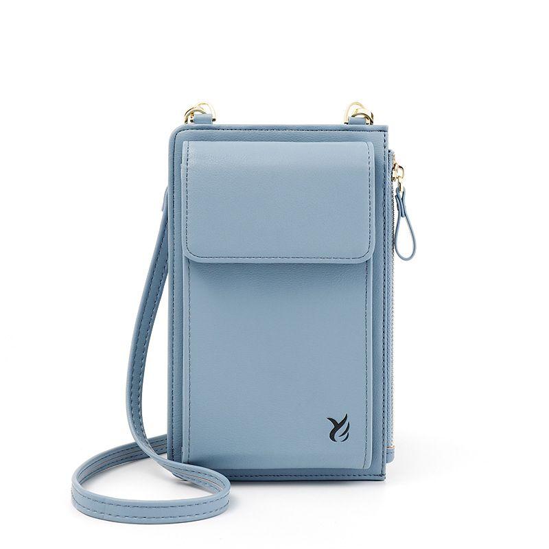 Le donne di spalla del corpo della traversa del sacchetto del sacchetto del messaggero della borsa del cellulare borsa sacchetto del cellulare a zero Portafoglio