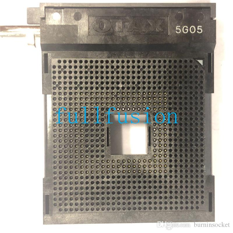 PGA754 IC Test Soketi 1.27mm Pitch Matrix 29x29 ZIF PGA754 Soket