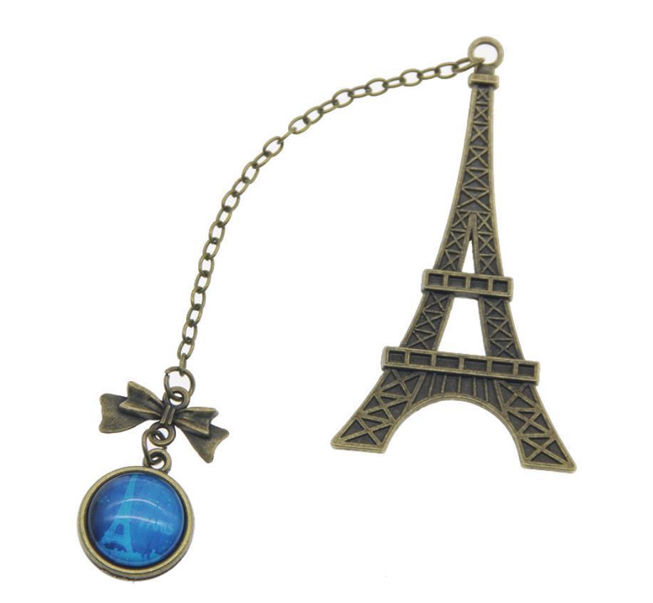 Favore Torre Eiffel creativo Vintage metallo Preferiti Per Libro di compleanno dei capretti regalo della festa nuziale per Ospite SN1075