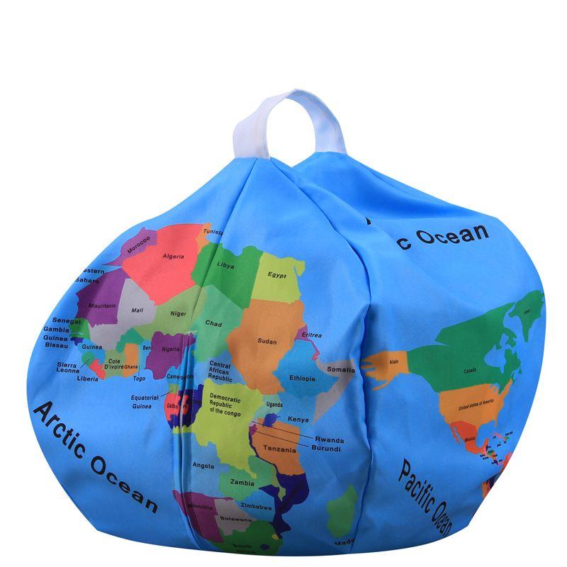 Children Toy Storage Bag Play Toy Mat Bag Storage For Kids Printed Pattern Blarge Capacity For Home Bedroom Travel Desktop 43