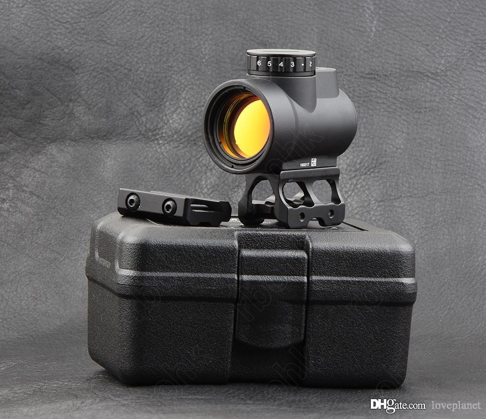 trijicon mro style 1x red dot sight scope with picatinny rail mount base M9159
