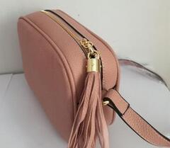 Женщины моды сумки известного бренда дизайнер сумка плеча Tassel SOHO Сумки женские кисточкой личи Профиль Женщины Сумка 01