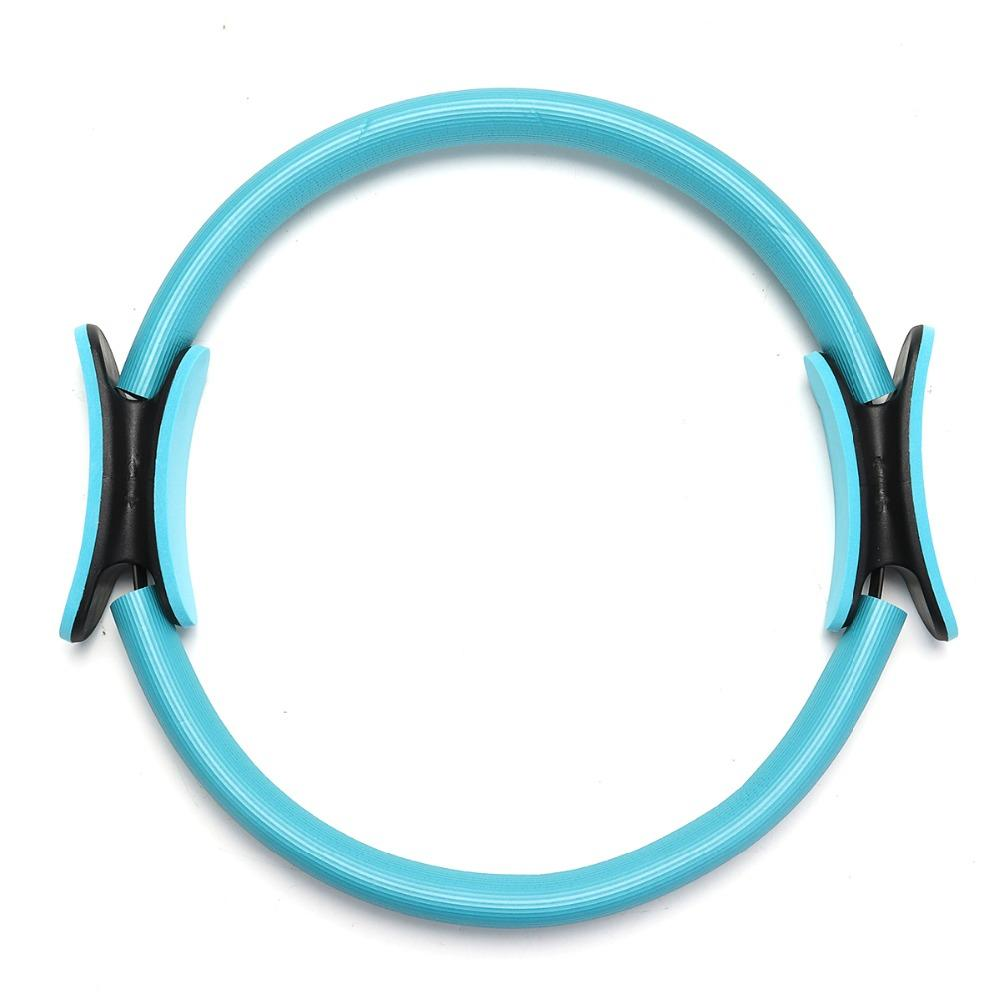 Dual Grip Pilates Ring Magic Circle Body Sport Exercise Fitness Weight Slimming Yoga Tool Body Building Training Yoga Circle