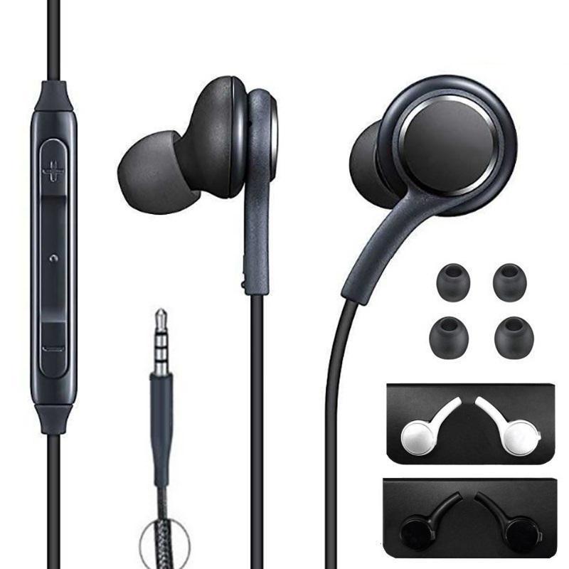 유니버설 3.5mm 잭 S10 이어폰 이어폰 마이크 이어폰 헤드폰 이어폰 Samsung Galaxy S8 S10 S9