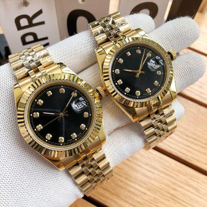 Movimento Relógio de luxo 31 milímetros 36 milímetros 41 milímetros Automatic Relógios Mecânicos Montre De Luxe Homens Mulher Alta Qualidade Relógios de pulso de ouro Designer relógios