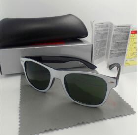 2020 Новое высокое качество Модельер Мужчины солнцезащитные очки УФ-защита Открытый Спорт Урожай Женщины солнцезащитные очки ретро очки с коробкой и случаи