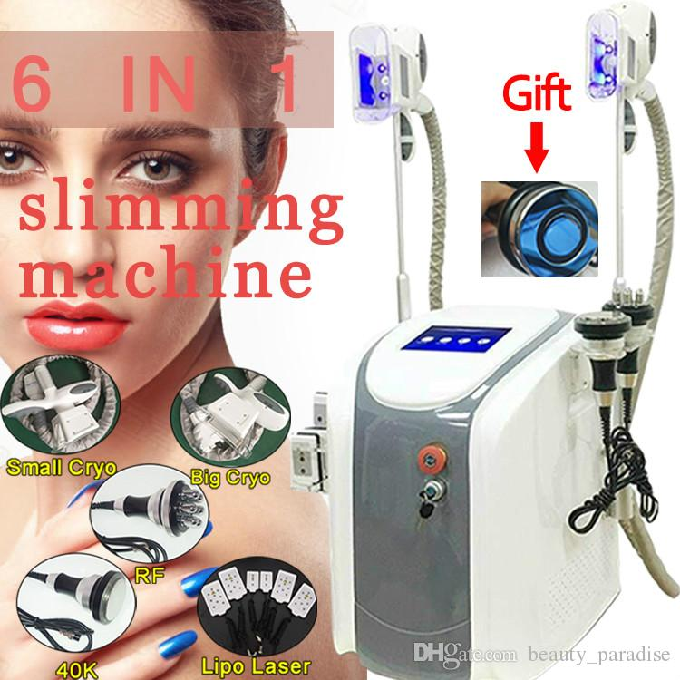 Fat freezing rf slimming ultrasonic cavitation radio frequency 4 in 1 cellulite removal vacuum weight loss beauty equipment for clinic