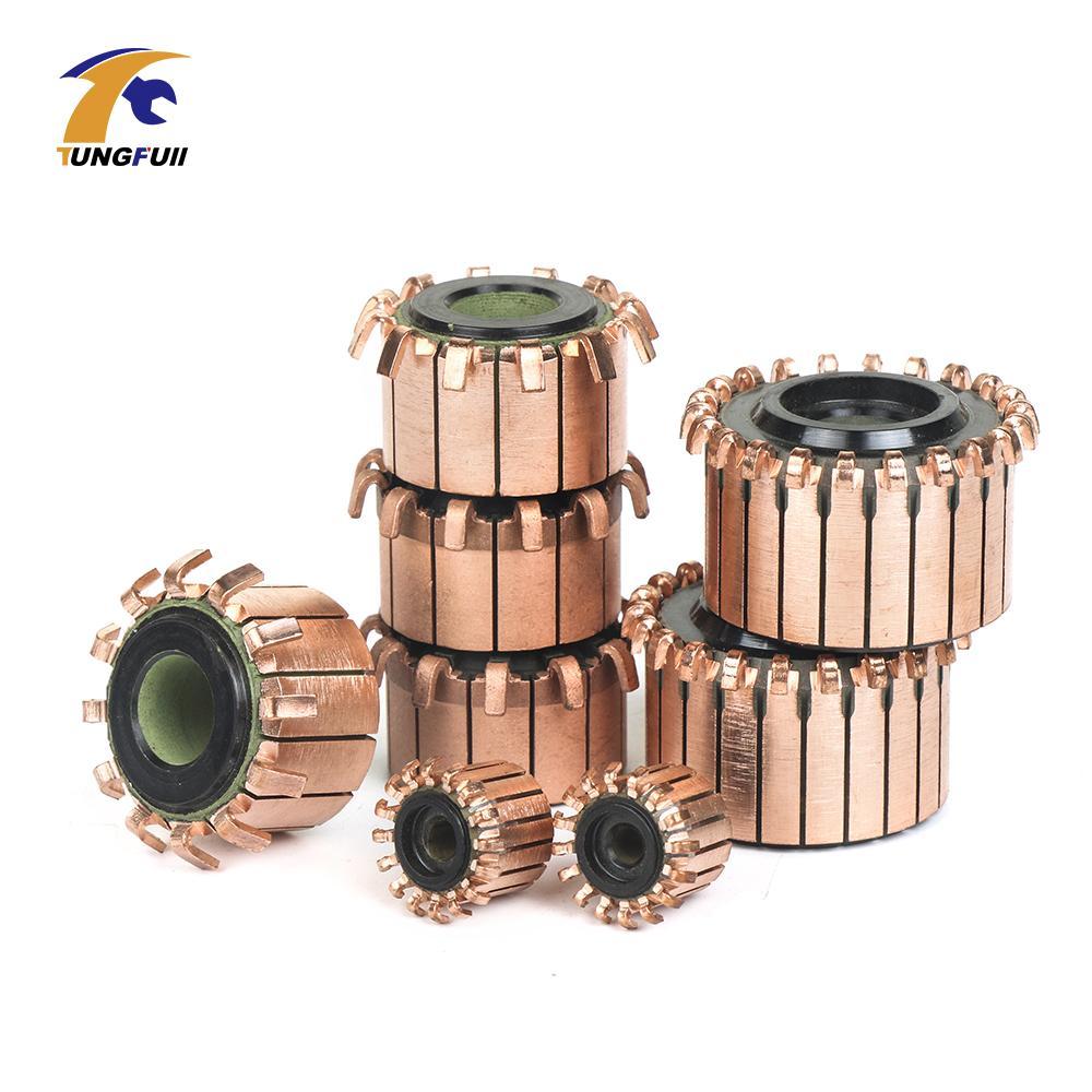 2 pcs Barras De Cobre Alternador Motor Elétrico Comutador de Motor de Bronze Dremel Acessórios Para Mini Broca