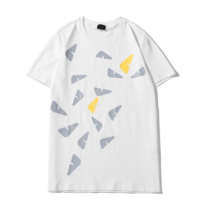 Designer brand T shirt Crew Neck Tee Tops Summer New Men Hip Hop Casual T-shirt Free Shipping