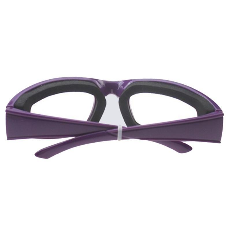 1pc Mutfak Soğan Gözlük Gözyaşı Ücretsiz Dilimleme Doğrama Kıyma Göz Koru Glasses Pratik Gadget Mutfak Aksesuarları Kesme