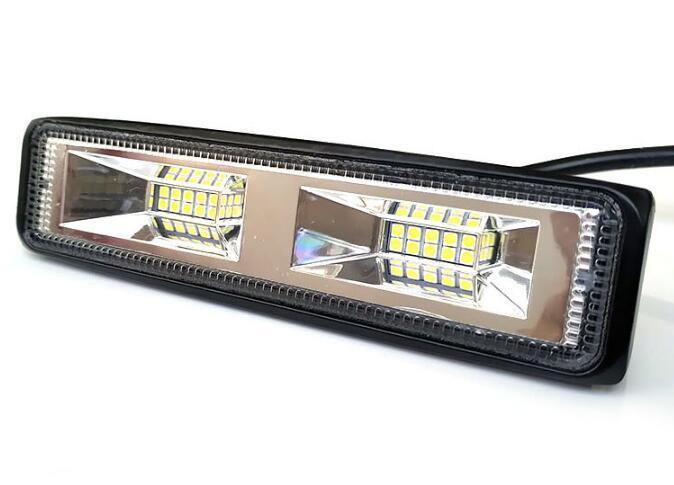 12 / 24VDC brilhante 20W levou luzes do carro de trabalho, luzes estroboscópicas grade, diminuindo luzes, farol motocicleta frente, IP waterproot 767
