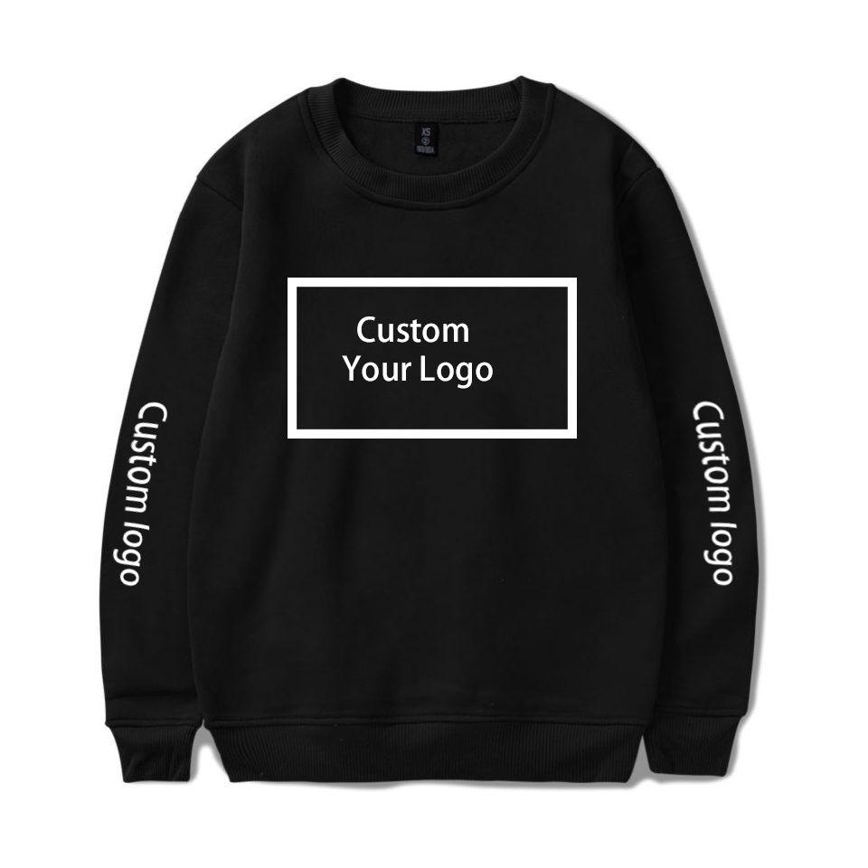 WAMNI personalizado camisola Logo Imprimir com capuz Hoodie personalizado camisola de algodão Streetwear Aqueça Crewneck Roupa Y191030