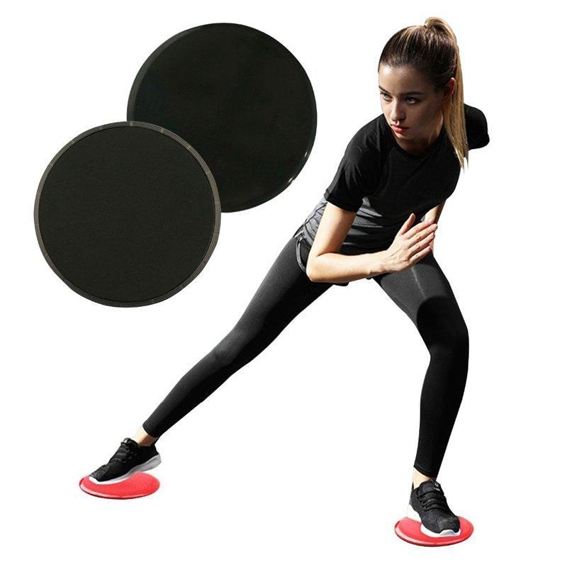 4pc Spor Planör Diskler Çekirdek Kürsörler Egzersiz Egzersiz Kürsörler Gym Kürsörler Eğitim Disk Aksesuarları Sürme