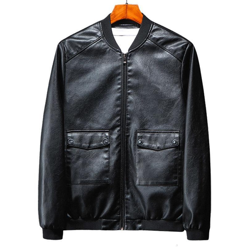 Nueva Primavera Herf invierno Jas PU de los hombres de Aprendizaje Jas Moto del motorista Ropa chaquetas Streetwear hombres ponen en cortocircuito