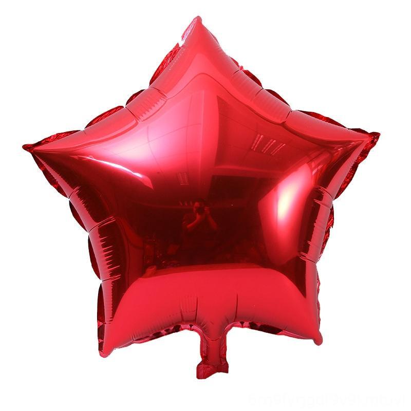 Balão Fivepointed Estrela Cross Border para o casamento Atacado aniversário do balão decorativa Novelty Gag brinquedos Decoração 5inch Fivepointed Estrela