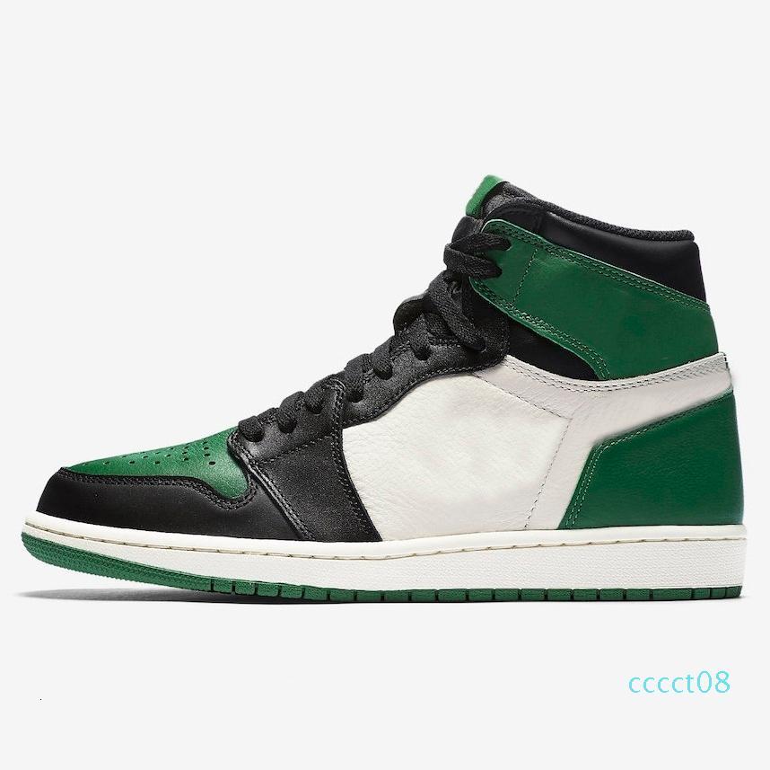 1 1С высокая ОГА разводят носок Чикаго запретили игру Королевский баскетбол обувь мужчин 1С топ 3 расколотый щит тень многоцветный кроссовки Размер40-47 ct08