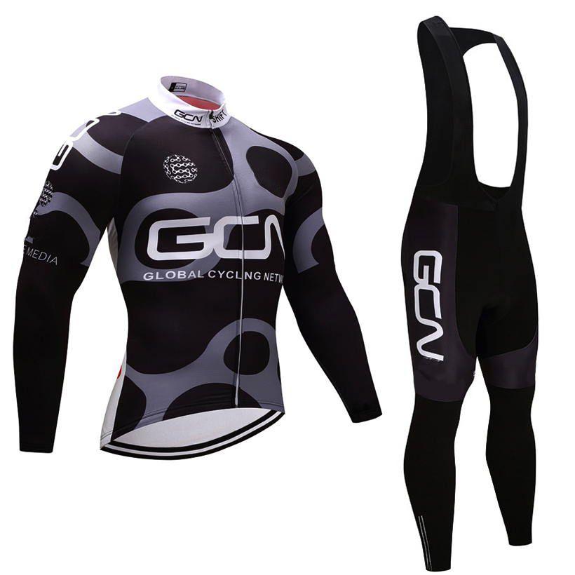Invierno Jersey de ciclo 2020 Pro Team GCN de polar ciclismo gel de ropa 9D acolchado pantalones Bib kit Ropa Ciclismo Invierno