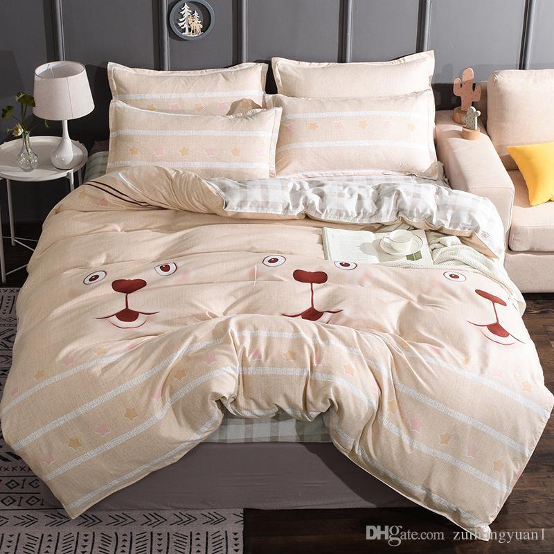 Yorgan Yatak Tasarımcı Elastik Kauçuk 4adet Yatak Seti Nevresim + Gömme Sac + yastık kılıfı King Size Lüks Yatak Setleri