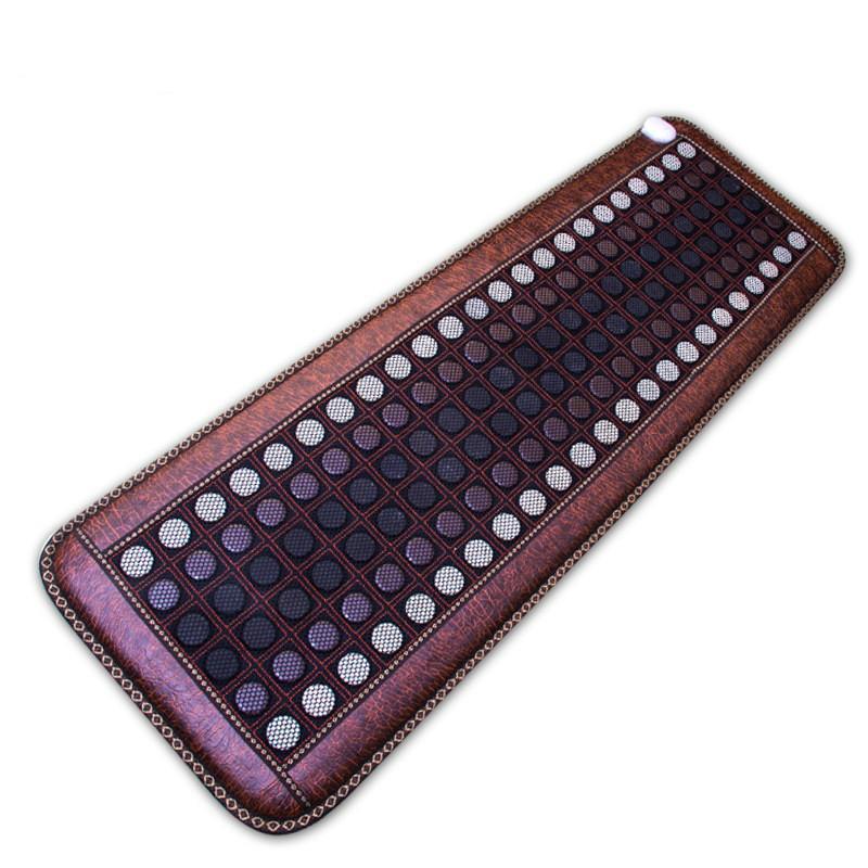 Far Infrared Natur Photon Jade Turmalin Heizung Pad Pro Hot Stone Therapie-Matte mit Smart Controller einstellbare Temperatur