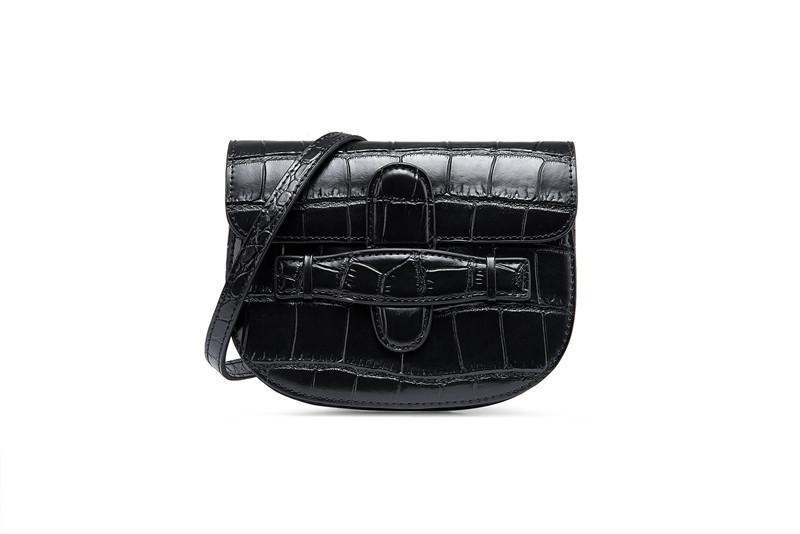 2019 mode mini-croûte de cuir de crocodile modèle sac ceinture de sac de taille