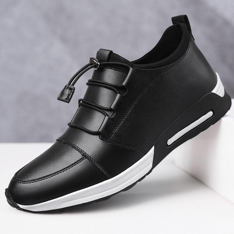 scarpe di cuoio uomo mocassini mens scarpe casual vendita calda sneakers nere scarpe firmate uomo 2019 chaussure homme sapato masculino tenis hombre