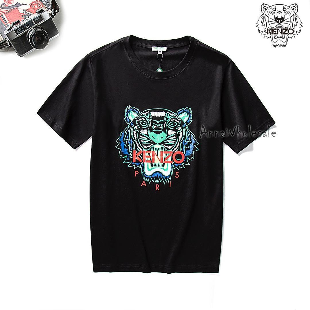 Ken LOGO ZO Hight Quality Tiger Reflective Print T Shirts Justin Bieber I  Feel Like Pablo Men And Women Short Sleeved Free Delivery Kenzo Funny Print