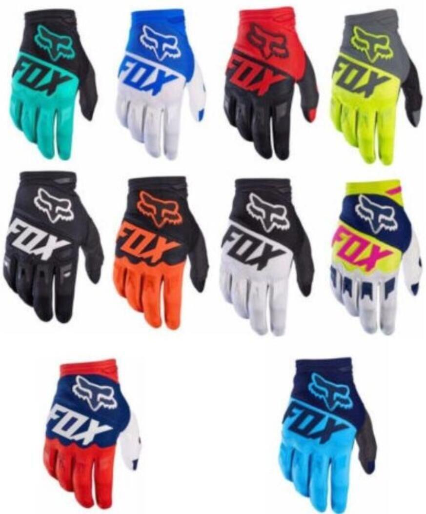 2019 explosif moto gants de course de moto hors route moto FOX gants de doigts longs