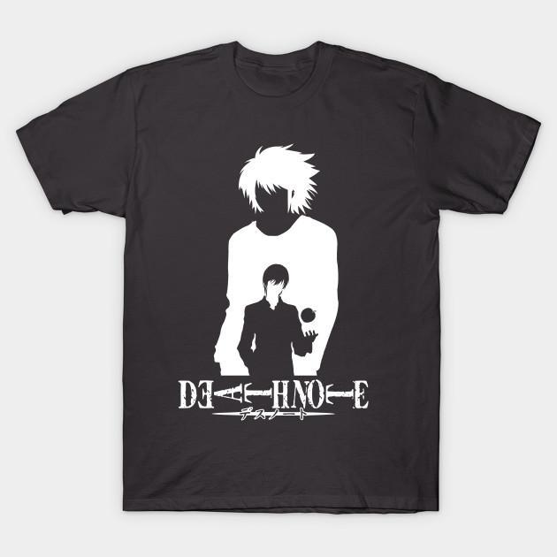 T-shirt L e Kira Death Note Tshirt T Shirt