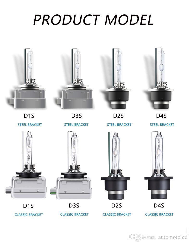 D1S / D2S / D3S / D4S HID مصابيح زينون عالية الجودة تحويل عدة استبدال لمبة السيارة 12V المصابيح الأمامية والمصابيح الأمامية
